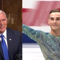 Lying Mike Pence Spox: Skater Adam Rippon's Claim VP Dislikes Gays 'Has No Basis in Fact'