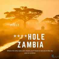 Trump's 'S—hole' Comments Inspire Zambia Tourism Ad