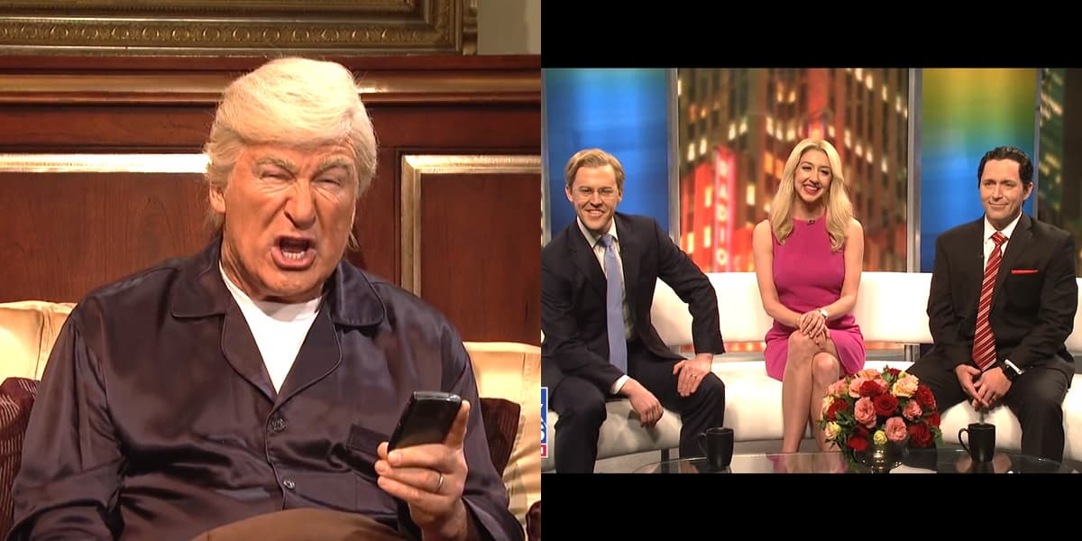 Alec Baldwin's Trump Makes Bedtime Appearance in 'SNL' Cold Open