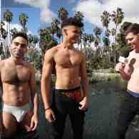 L.A. Runners Strip Down and Spill Out – Boxers or Briefs? – WATCH