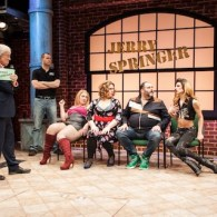 An Outdated Rerun in Off-Broadway Bow of 'Jerry Springer: The Opera': REVIEW