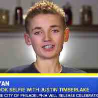 Justin Timberlake's Selfie Kid Reacts to Becoming the Super Bowl's Biggest Meme: WATCH