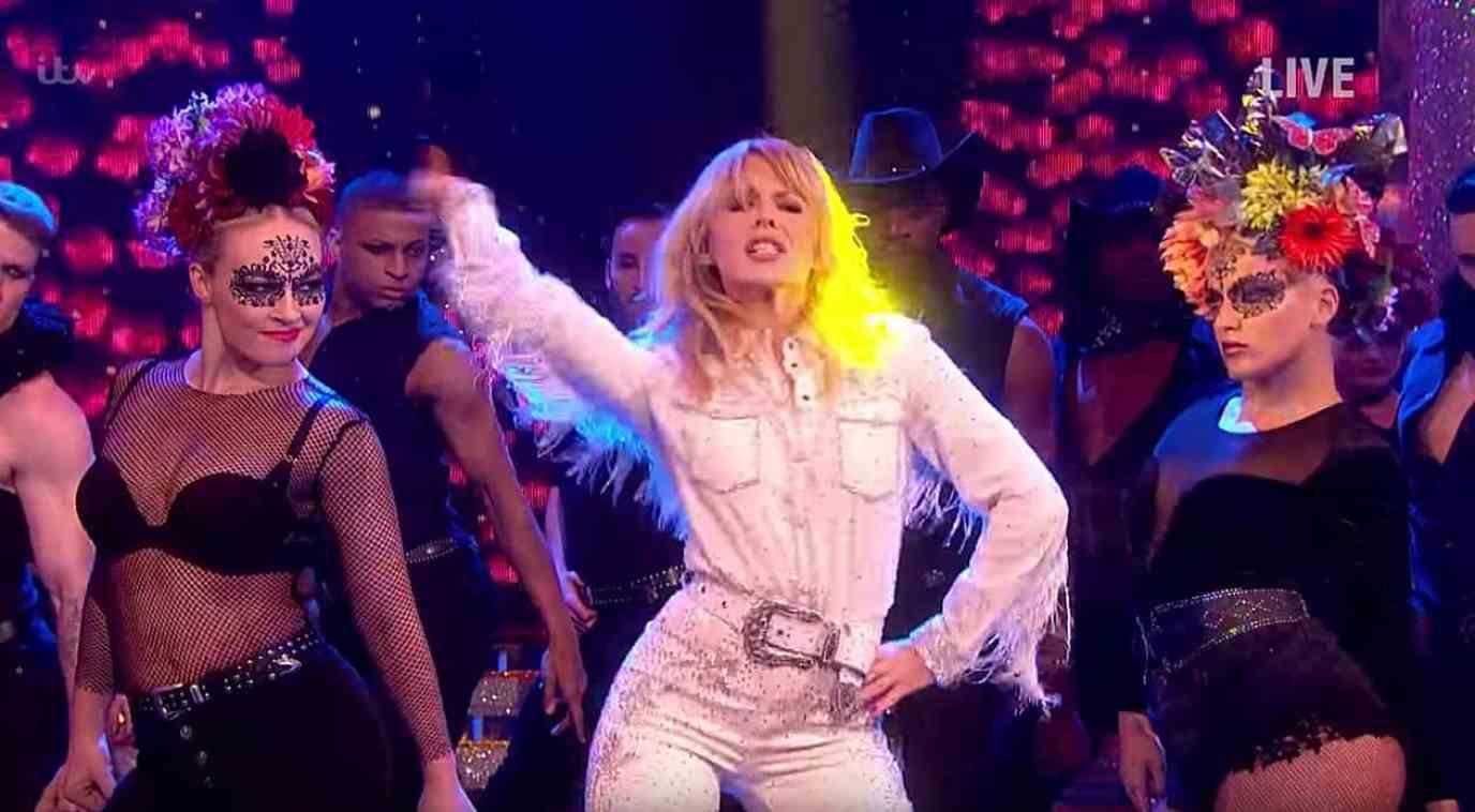 Kylie Minogue Dancing