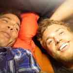 Gus Kenworthy tent