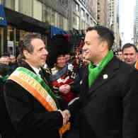 Openly Gay Irish PM Leo Varadkar Leads NYC St. Patrick's Day Parade After Closed Door Pence Meeting