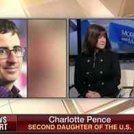 Charlotte Pence: 'I'm All For' John Oliver's Gay Bunny Book – WATCH