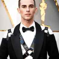 Everyone Had an Opinion About Adam Rippon's Oscar Harness and Here They Are