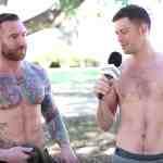 shirtless military