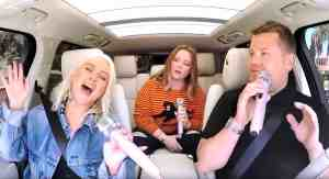 Christina Aguilera carpool