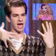 Andrew Garfield is as Obsessed with 'Miss Vanjie' as You Are: WATCH