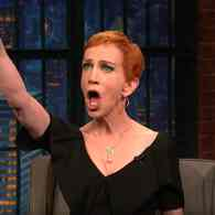 Kathy Griffin Tells Seth Meyers She 'Doesn't Have an F Left to Give' – WATCH