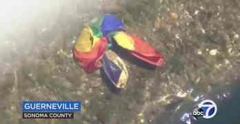 guerneville rainbow flag