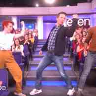 Sean Hayes Kicked Off His Ellen Hosting Gig with a Big Dance Routine: WATCH