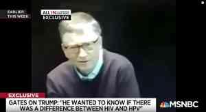 Bill Gates Trump