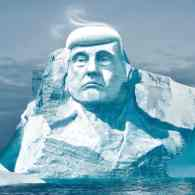 Global Warming Activists Plan to Carve Donald Trump's Face on to a Glacier: WATCH