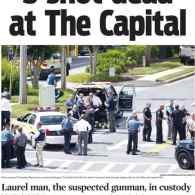 'Capital Gazette' Front Page Honors 5 Victims of Mass Shooting in Paper's Newsroom
