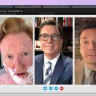 Stephen Colbert, Jimmy Fallon and Conan O'Brien Group Chat to Talk Trump, Plan Lunch at the Red Hen: WATCH