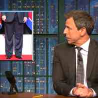 Honey, I Shrunk the Dictators: Seth Meyers' Hilarious and Hopeful Take on Trump's Summit with Kim Jong Un: WATCH
