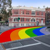 sydney rainbow crosswalk