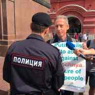 Gay Activist Peter Tatchell Arrested During Protest in Moscow Ahead of World Cup: WATCH