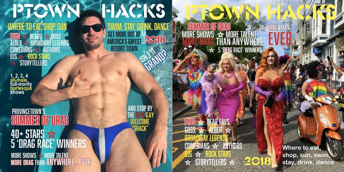 ptown hacks covers provincetown gay travel guide