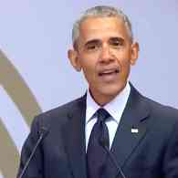Obama Rebukes Trump in Speech Denouncing Shameless Leaders Who Lie and Make Stuff Up: WATCH