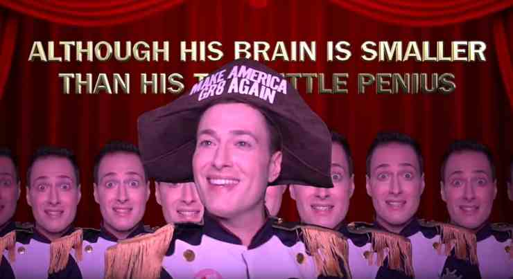 randy rainbow pirates stable genius