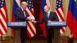 soccer ball Putin Trump