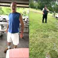 Drunk Racist Harasses Woman Wearing Puerto Rican Flag Shirt in Chicago-Area Park While Cop Stands By, Does Nothing: WATCH