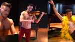 shirtless violinist bloom