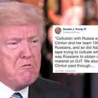 trump hillary collusion