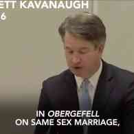 Trump SCOTUS Nominee Brett Kavanaugh Praises Scalia's Dissent on Marriage Equality Ruling: WATCH