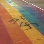 rainbow crosswalk torontos gay village