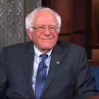 Bernie Sanders Tells Colbert He's Not Not Running in 2020: WATCH