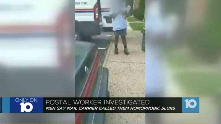 usps postal worker
