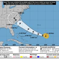 South Carolina Governor Orders Mandatory Coastal Evacuation Ahead of Monster Category 4 Hurricane Florence