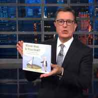 Whose Boat is This Boat? Stephen Colbert Publishes Trump-Mocking Book for Hurricane Relief