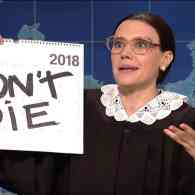 Kate McKinnon's Ruth Bader Ginsburg Joins SNL's Weekend Update to 'Gins-Burn' Brett Kavanaugh and the GOP: WATCH