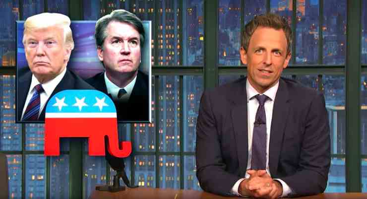 Kavanaugh Seth Meyers