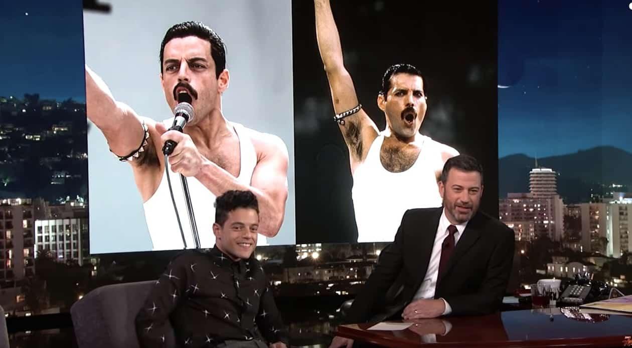 Rami Malek Talks About Transforming Into Freddie Mercury For