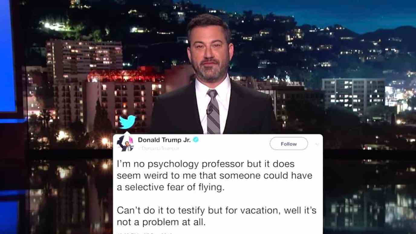 Jimmy Kimmel Donald Trump Jr.