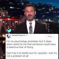 Jimmy Kimmel Unleashes Wrath on Donald Trump Jr. After Kavanaugh Hearing: WATCH