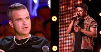 Robbie Williams Felix Shepherd
