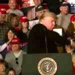 Trump bodyslam