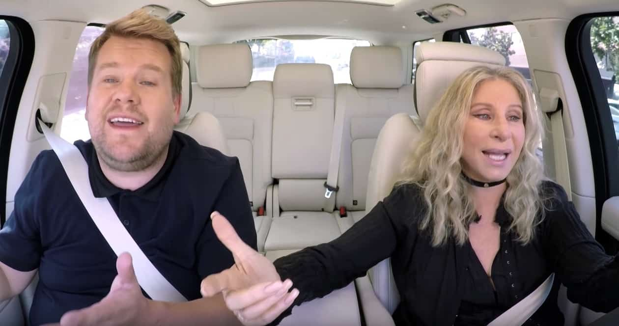 Barbra Streisand opens up about stage fright during Carpool Karaoke