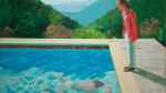 David Hockney portrait