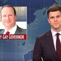 SNL Weekend Update Riffs on Gay Gov. Jared Polis, the Mic-Taking WH Intern, and Pete Davidson's Apology: WATCH