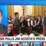 Jim Acosta press pass