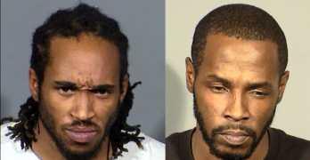 Kealan Abraham, 34, and Andre Duncan, 39 Las Vegas attack