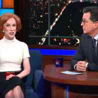 Kathy Griffin Stephen Colbert